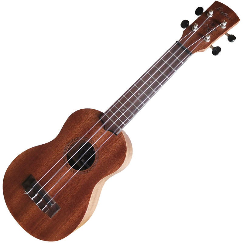 Laka Acoustic Ukulele & Bag ~ Soprano Left Hand