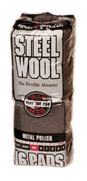 00 STEEL WOOL – 16 pads/bag