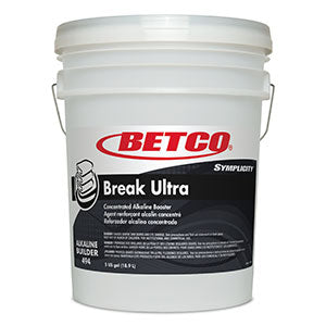 BETCO SYMPLICITY BREAK ULTRA 110 ALKALINE BUILDER – 18,9L ***DG***