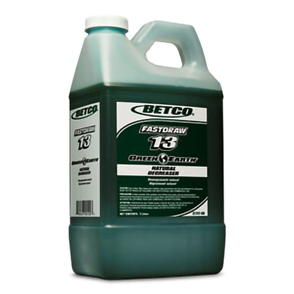 BETCO FASTDRAW 13 GREEN EARTH NATURAL DEGREASER – 2L, (4/case)