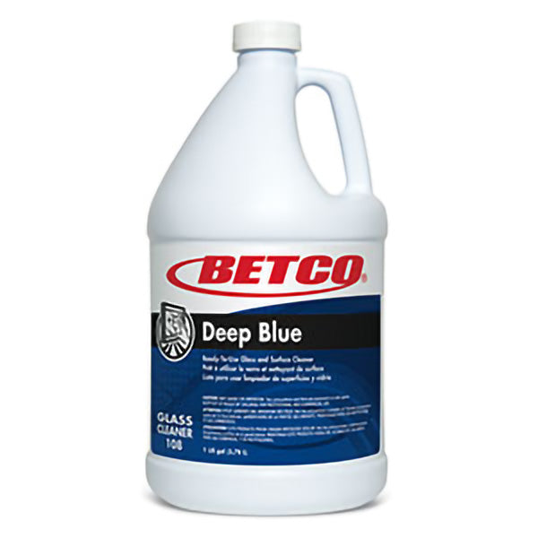 BETCO DEEP BLUE GLASS CLEANER RTU – 4L, (4/case)