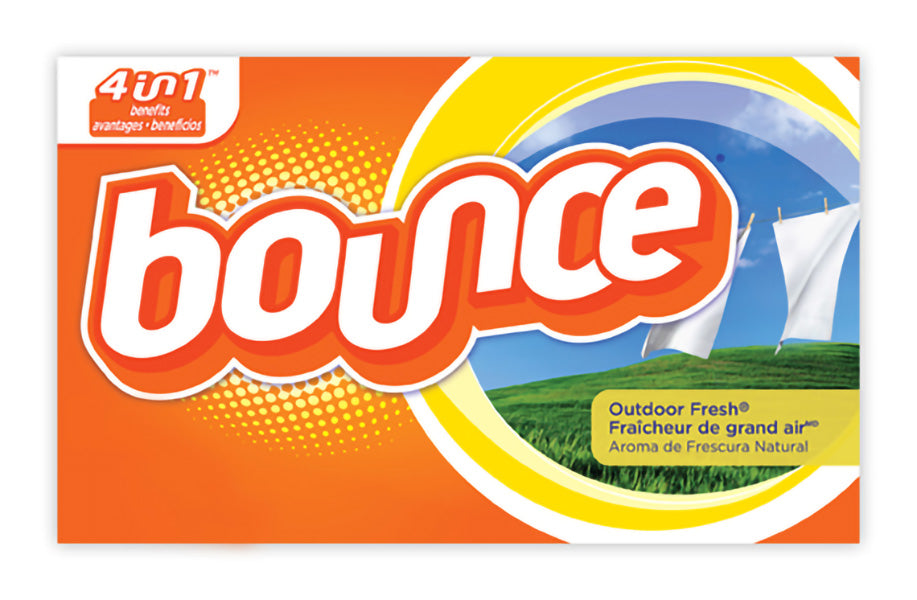 30420 BOUNCE OUTDOOR FRESH FABRIC SOFTENER SHEETS – 200/box