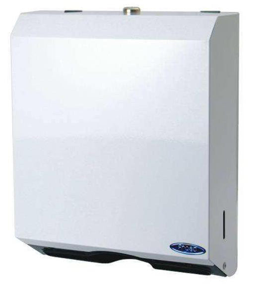 FROST WHITE METAL MULTIFOLD TOWEL DISPENSER