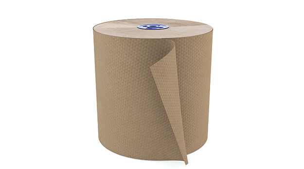 2-T225A1 PERFORM 7.5″ PREMIUM NATURAL HAND TOWEL – 1050'/roll, 6 rolls/case