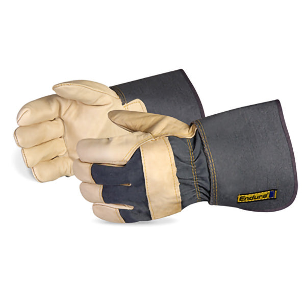 FULL GRAIN COWHIDE FITTERS GLOVE w/4″ CUFF
