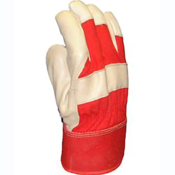 "FORCEFIELD ""49th PARALLEL"" THINSULATE LINED, PATCH PALM GRAIN LEATHER GLOVES"