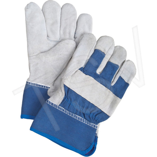 PREMIUM FITTERS GLOVE w/2″ CUFF, BLUE – LARGE, (12prs./pkg., 120prs./cs.)