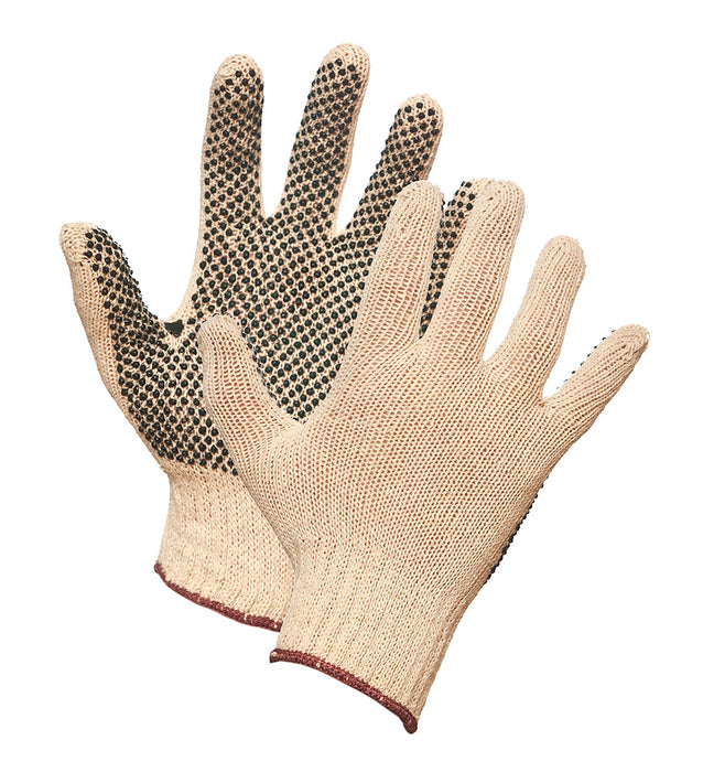 STRING KNIT GLOVE w/DOTS – LARGE (25dz/case)