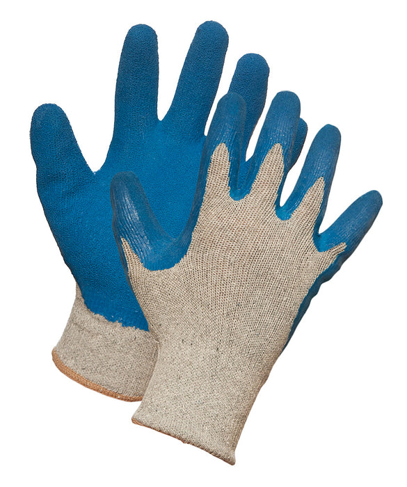 """GRIPS"" LATEX COATED KNIT GLOVE – SMALL (10dz/case)"