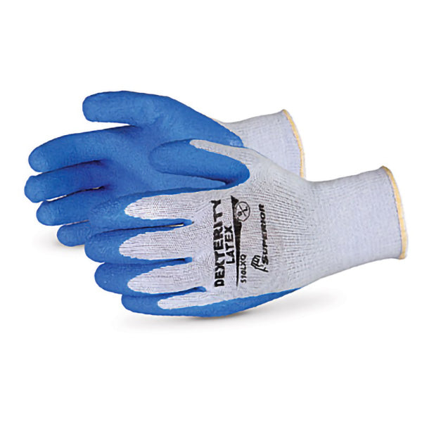 DEXTERITY – LATEX COATED GLOVE – LARGE