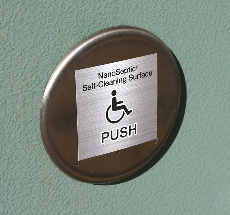 ADA Auto Door Push Button Skin