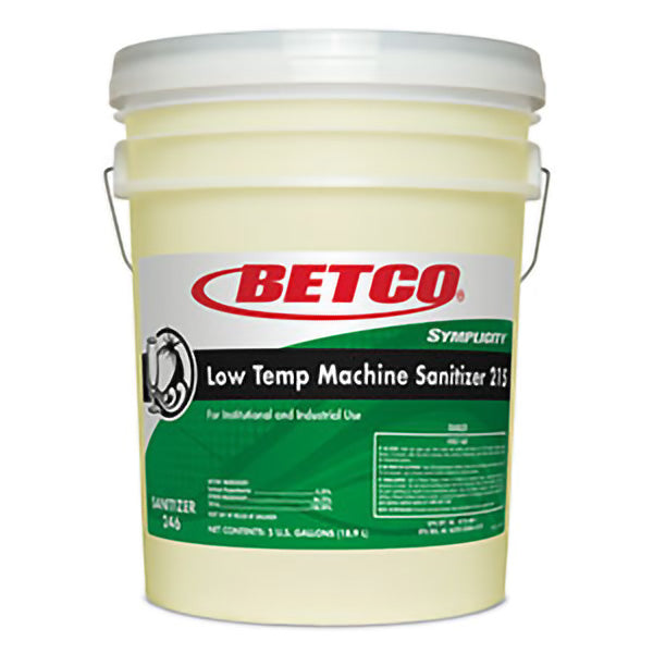 BETCO SYMPLICITY LOW-TEMP MACHINE CHLORINE – 18,9L ***DG***