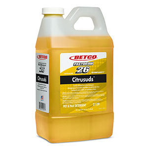 BETCO FASTDRAW 26 CITRUSUDS DISH DETERGENT CONCENTRATE – 2L, (4/case)