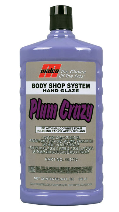 PLUM CRAZY VEHICLE HAND GLAZE – 32 OZ