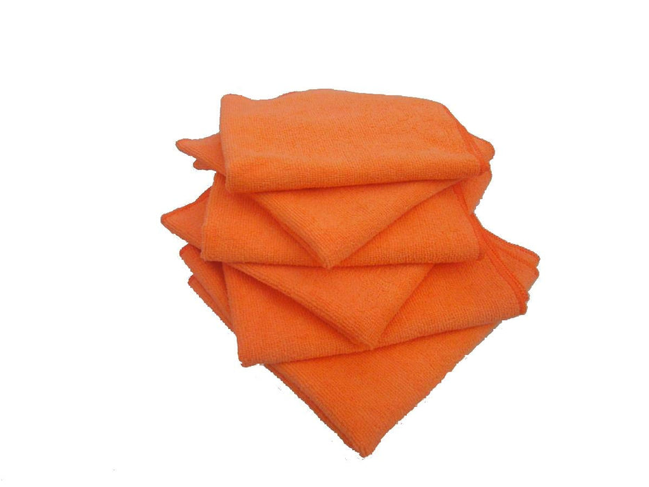 16″ x 16″ ORANGE MICROFIBRE TOWEL –