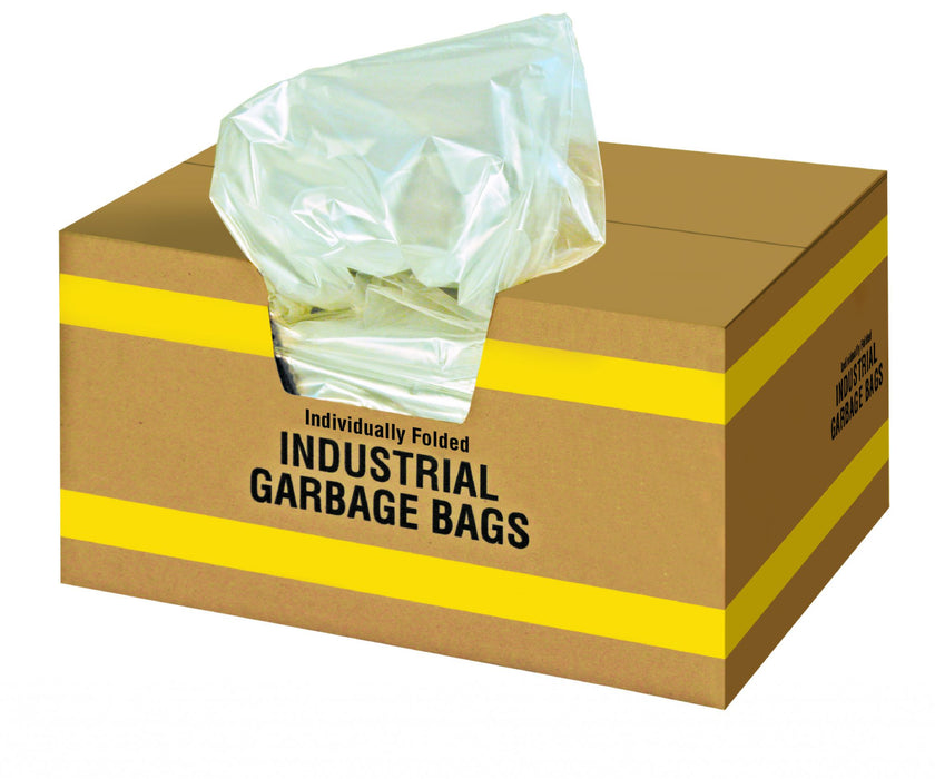 22244-4 22 x 24 CLEAR RECYCLING & GARABGE BAGS – 500/case