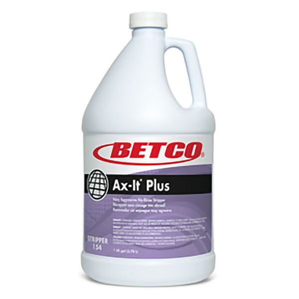 BETCO AX-IT PLUS FLOOR STRIPPER – 4L (4/case) ***DG***