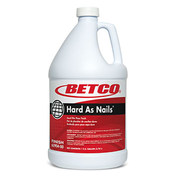 BETCO HARD AS NAILS HARD FILM FLOOR FINISH – 4L (4/case)