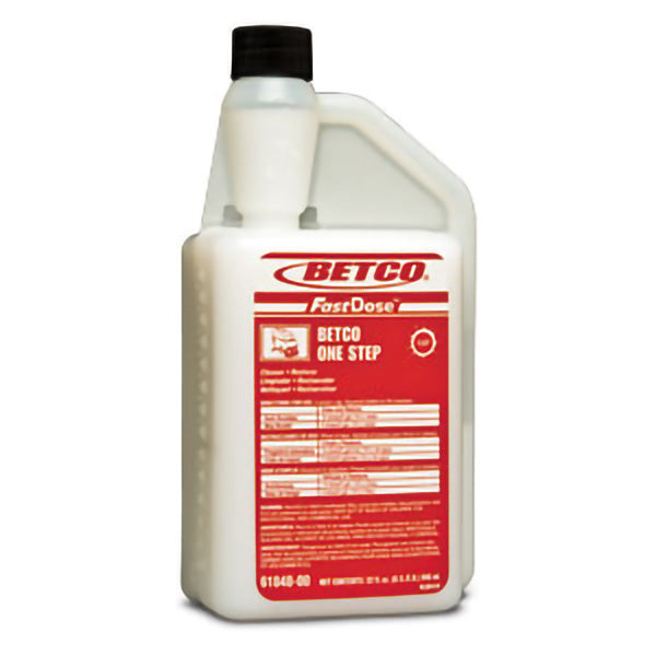 BETCO FASTDOSE ONE STEP FLOOR CLEANER RESTORER – 32oz, (6/case)