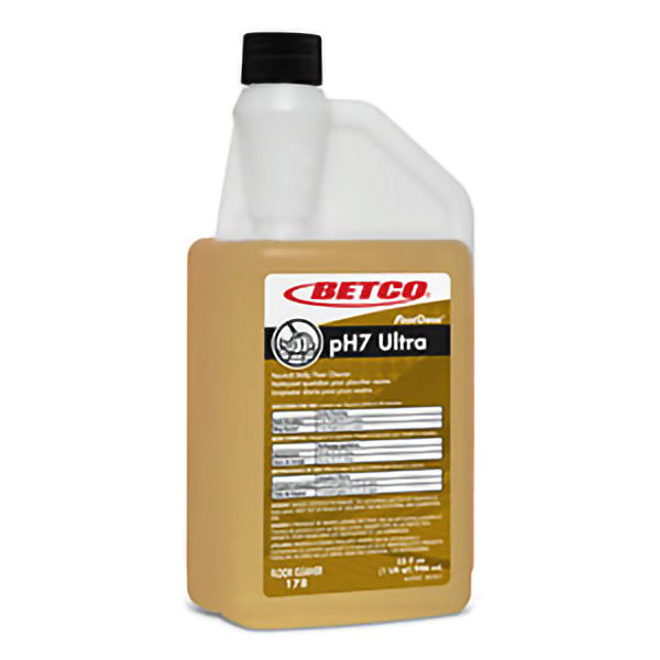 BETCO FASTDOSE ph7 ULTRA NEUTRAL FLOOR CLEANER – 32oz, (6/case)