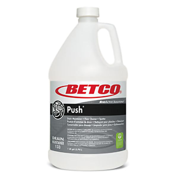 BETCO BIOACTIVE SOLUTIONS PUSH® DRAIN MAINTAINER & FLOOR CLEANER – 4L (4/case)