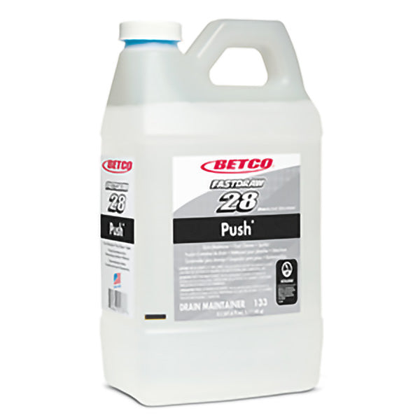 BETCO FASTDRAW 28 PUSH® DRAIN MAINTAINER & FLOOR CLEANER – 2L (4/case)