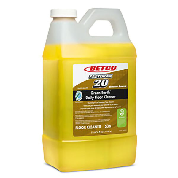BETCO FASTDRAW 20 GREEN EARTH NEUTRAL DAILY FLOOR CLEANER – 2L, (4/case)