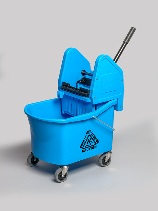 GRIZZLY 32qt DOWNPRESS WRINGER & BUCKET COMBO – Blue