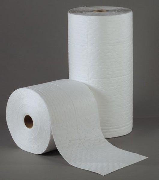 30″ x 150′ WHITE BONDED ABSORBENT ROLL, HEAVY WT – 1/cs