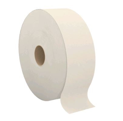 2-T263A1 PERFORM 2 PLY LATTE JUMBO ROLL TOILET TISSUE – 1400'/roll, 6 rolls/case