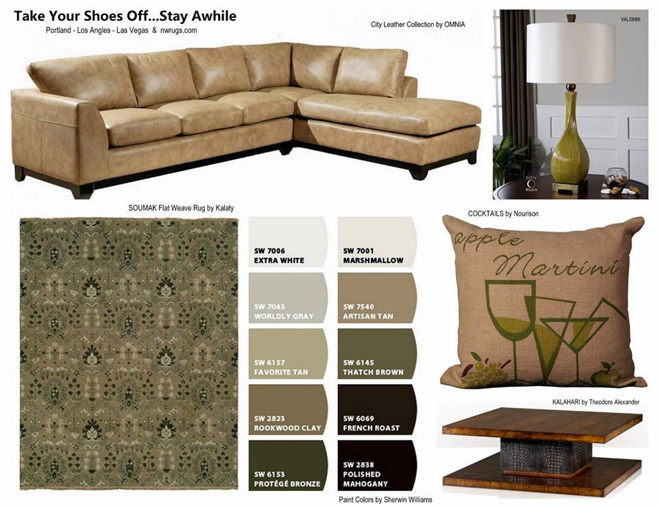 Take Your Shoes Off and Stay Awhile - A New Design Board