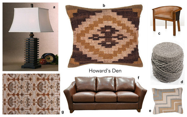 HOWARD'S DEN - MASCULINE COMFORT IN THE CITY