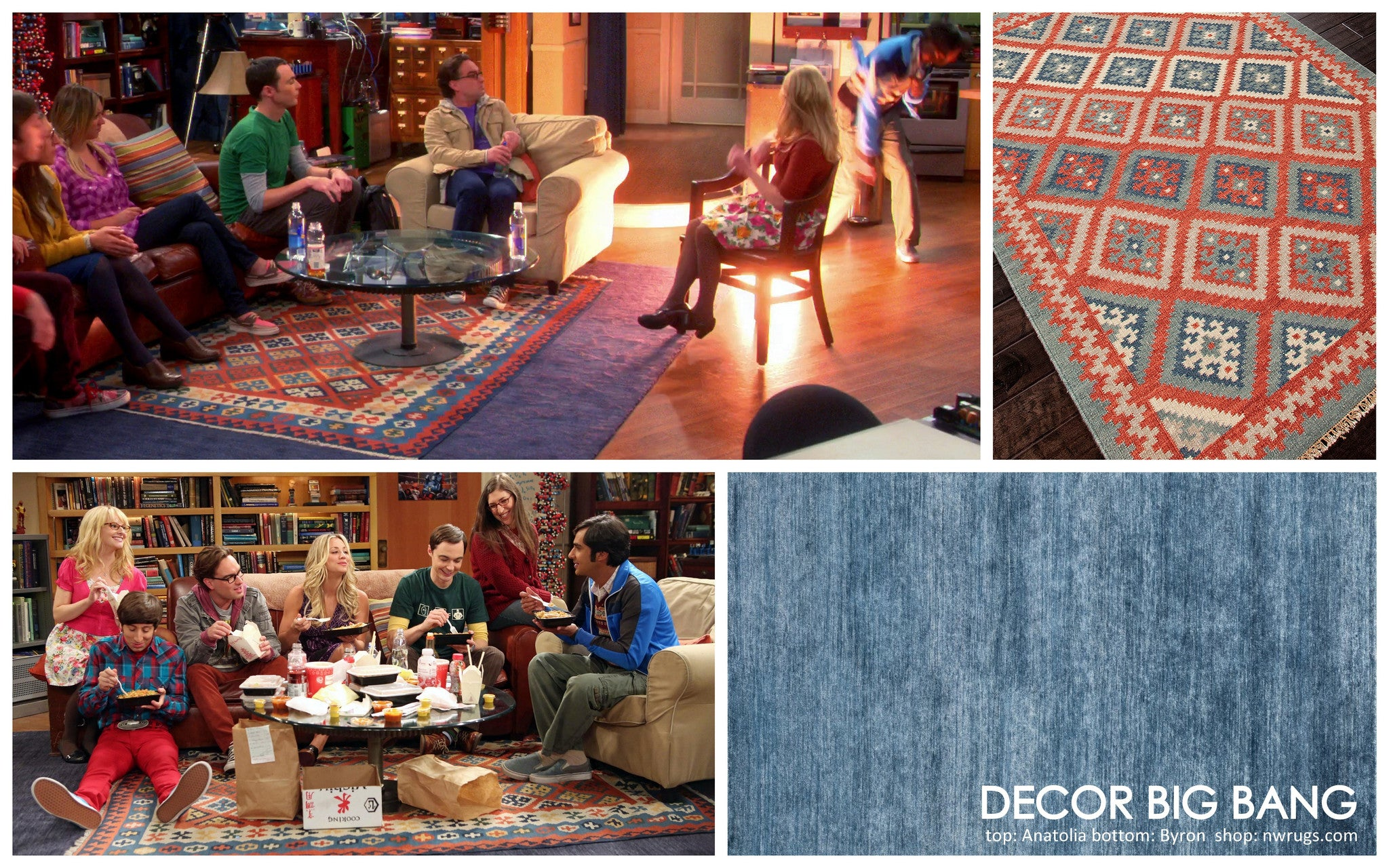 DECOR BIG BANG; On the Set of The Big Bang Theory