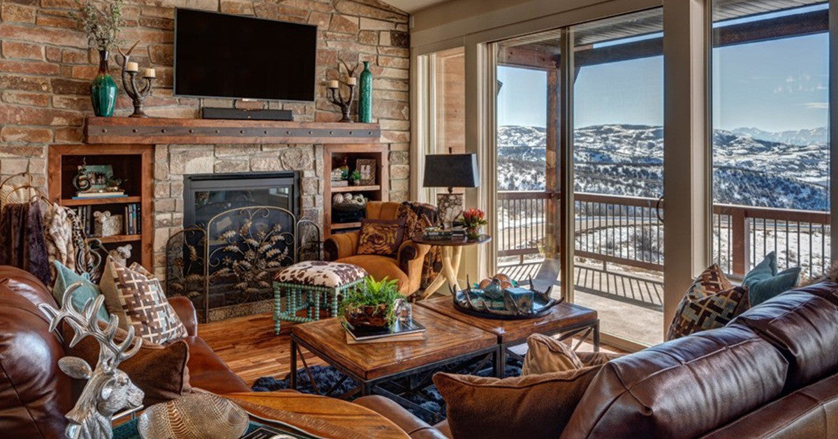 Rustic Interior Design | A clssical, modern and eclectic look