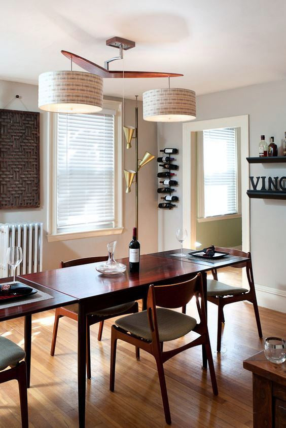 QUEST: Finding the Right Rug For A Mod Dining Room