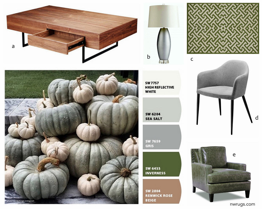FALL COLORS INSPIRED DESIGN BOARD
