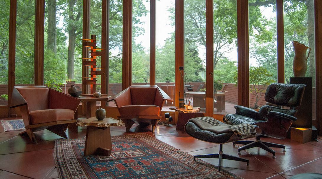 Warming Up Mid-Century Modern With Area Rugs & Warming Up Mid-Century Modern With Area Rugs - NW Rugs \u0026 Furniture
