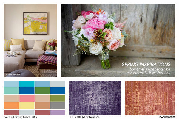 Rooms and Rugs Pantone Spring Colors 2015