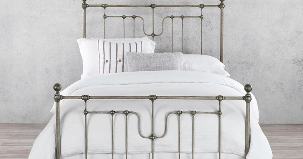 Iron Bed Frames Portland, Los Angeles, Las Vegas - NW Rugs & Furniture