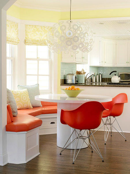 Orange, Yellow Kitchen