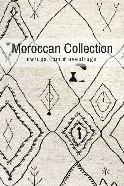 A Look That Goes With Everything Moroccan Rugs Nw Rugs