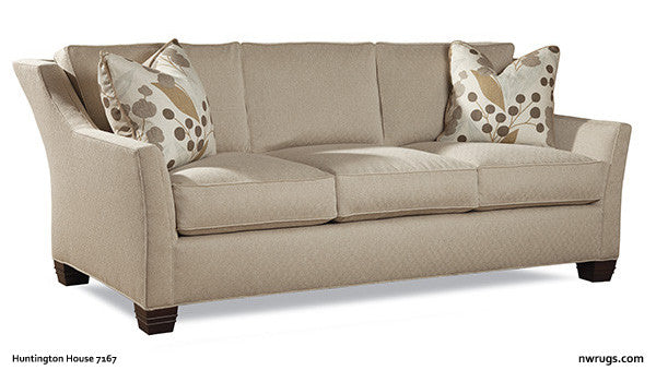 "SOFA (a.) - 7167 by Huntington House  89.5""W X 41""D X 37""H - Arm Height: 25"" Seat Height: 20""  http://nwrugs.com/collections/sofas/products/sofa-7167-20  #furniture for your entire #home at NW Rugs"