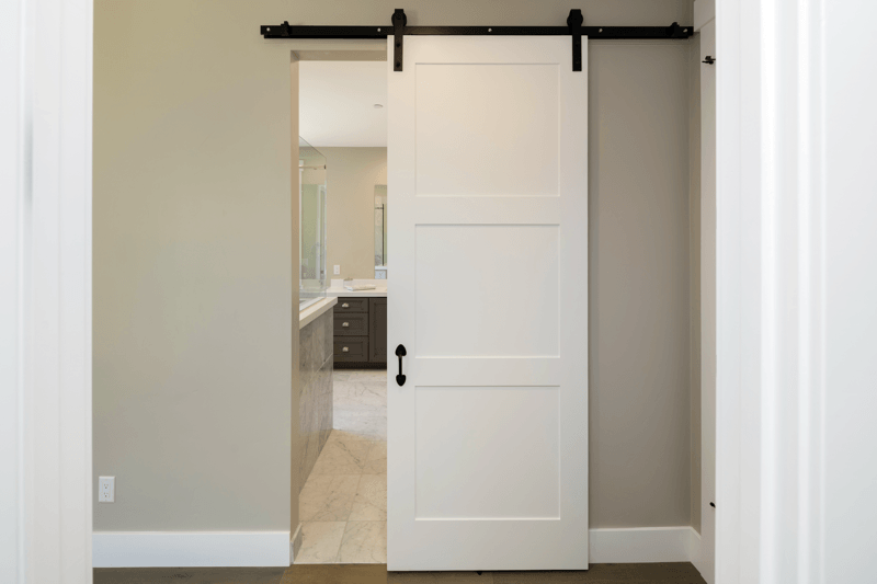 This Doesnu0027t Mean The Room Canu0027t Have As Much Style As Large Spaces! Check  Out These Great Tips For Make The Most Out Of Small Spaces. Barn Door