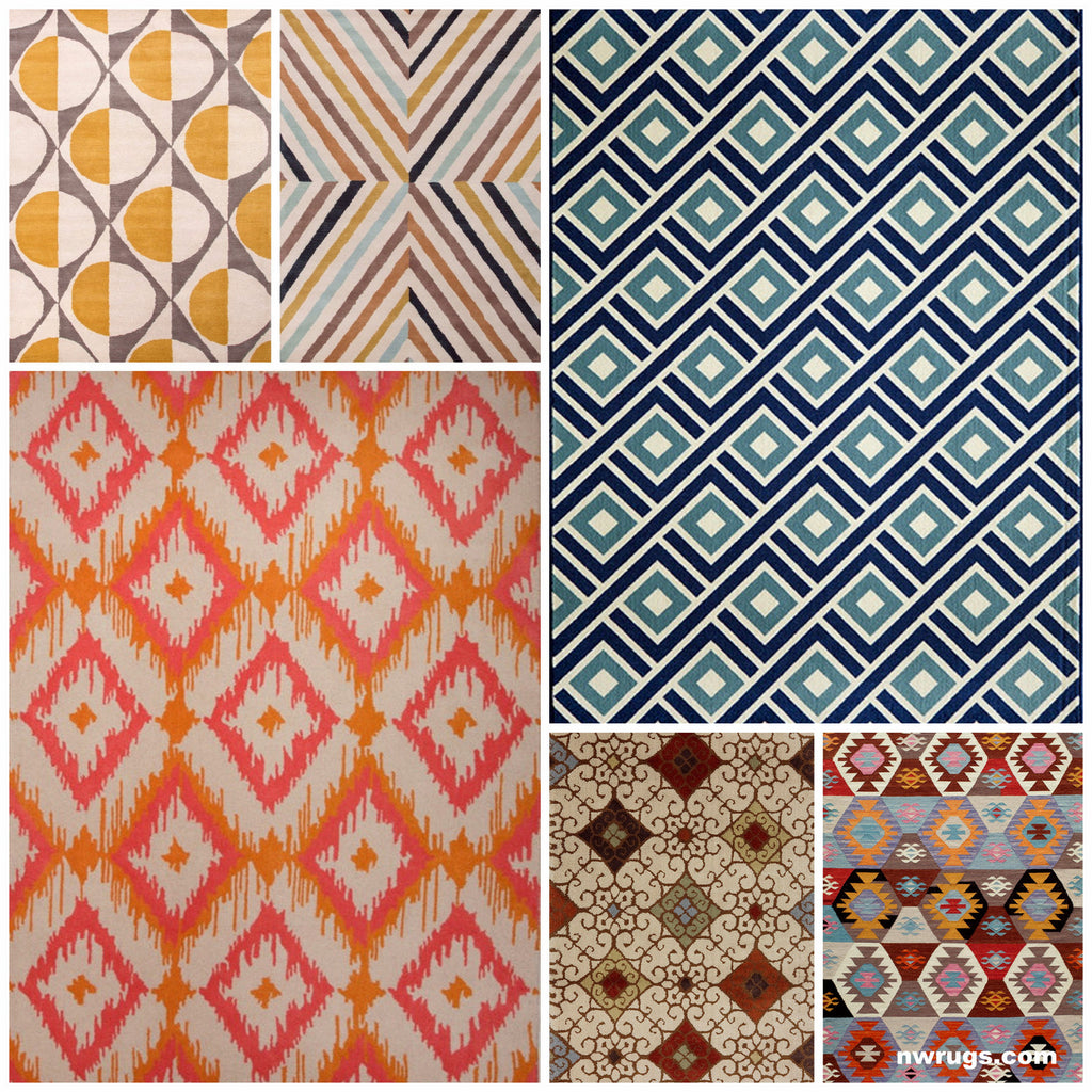 Design with Diamond Shaped Rugs, NW Rugs