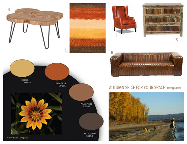 Autumn Paint Colors Home Spice For Your Space Nw Rugs