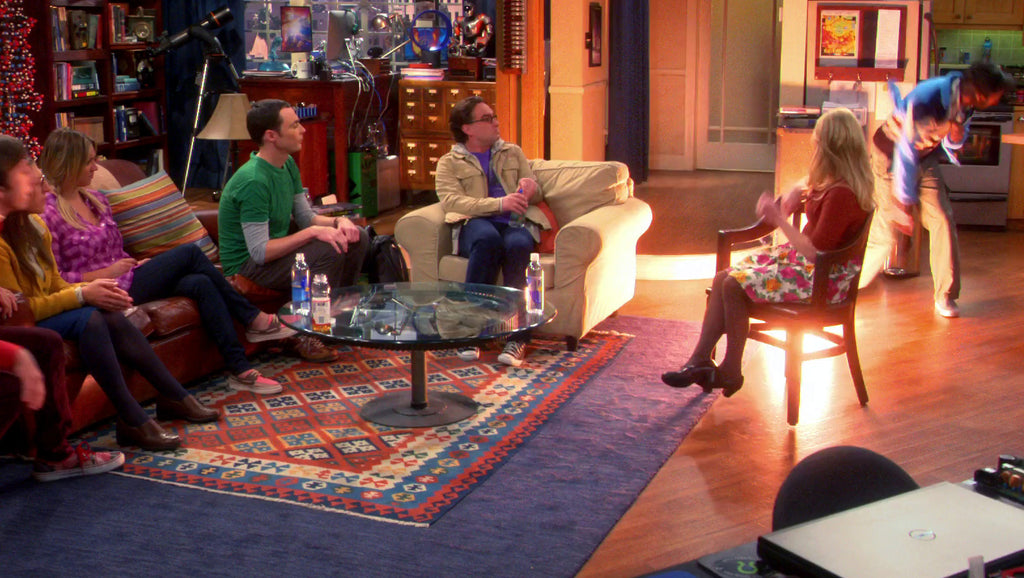 Decor Big Bang On The Set Of The Big Bang Theory Nw