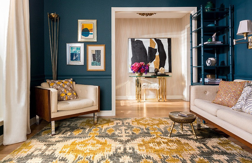 Elegant ... And Design Elements Is That You Are Not Locked Into Any One Aspect And  You Can Change Up The Color Of The Walls Several Times Over The Life Of The  Rug.
