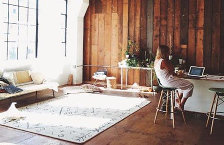 Superior If Your Space Is Small Try Using A Light Colored Rug To Make Your Room Have  A More Expansive Look.
