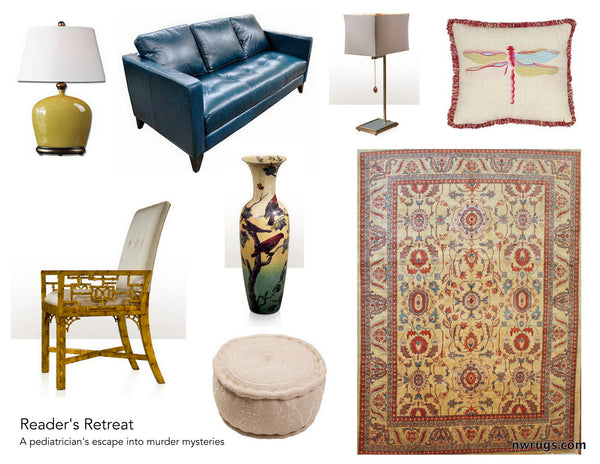 Rugs and accessories for a relaxing retreat