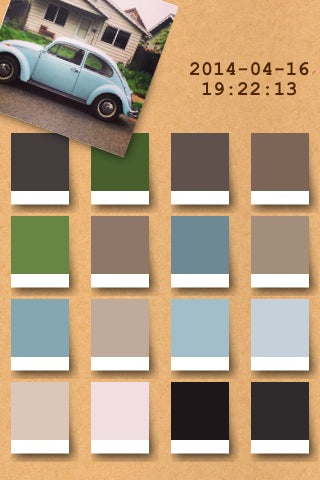 color palette from irodori app loveofrugs nwrugs